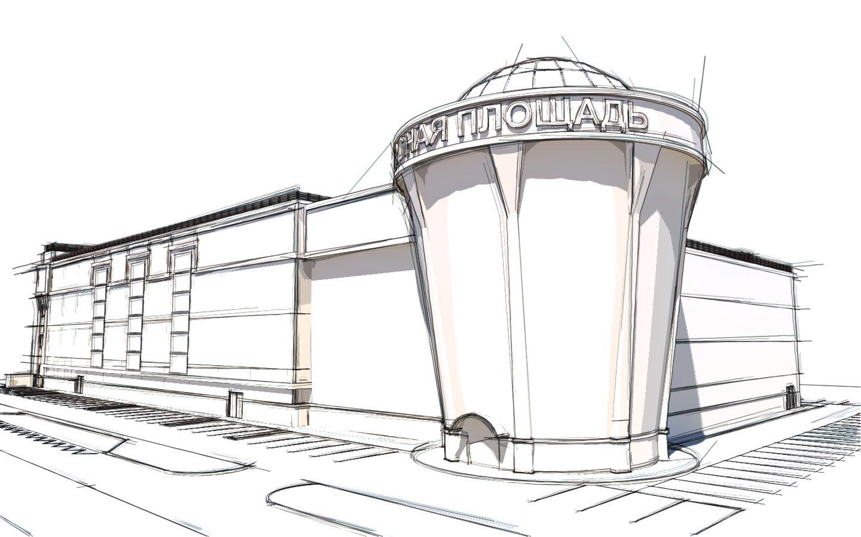очередные поиски концепции фасада