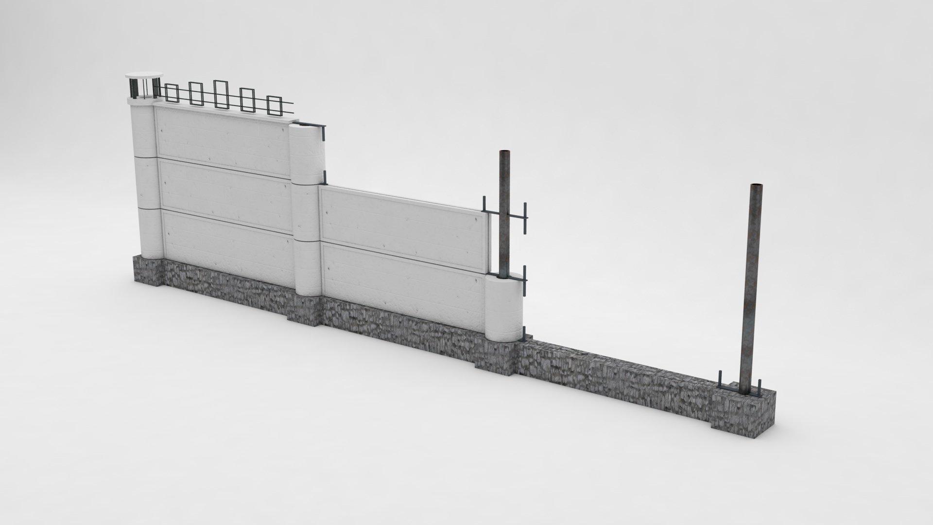 Модульная сборная ограда